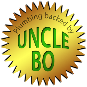Plumbing Services backed by Uncle Bo